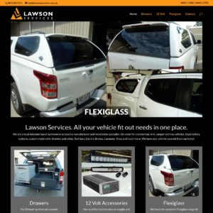 Lawson Services - Website Design & Development - Derek Armsden Design
