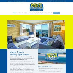 Marcel Towers - Website Design & Development - Derek Armsden Design