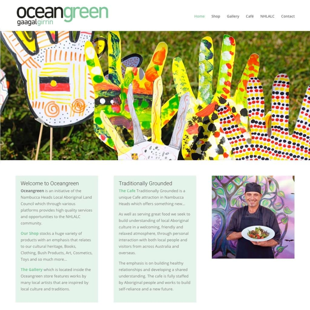 Ocean Green - Website Design & Development - Derek Armsden Design