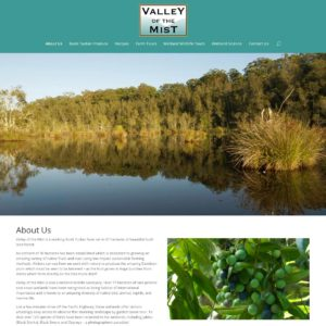 Valley Of The Mist - Website Design & Development - Derek Armsden Design