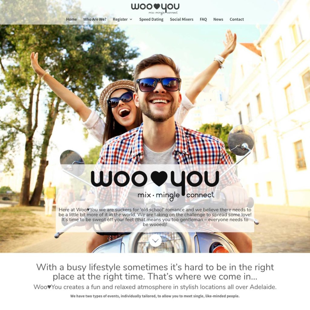 WooYou - Website Design & Development - Derek Armsden Design