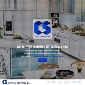 Cowley Services SA - Website Design & Development - Derek Armsden Design