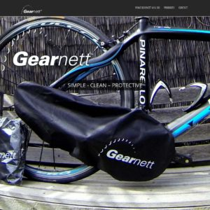 GearNett - Website Design & Development - Derek Armsden Design
