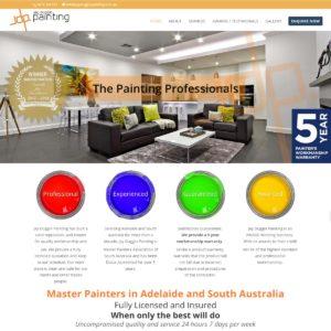 Jay Duggin Painting - Website Design & Development - Derek Armsden Design