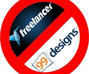 1 Designer + 98 Losers = 99Designs